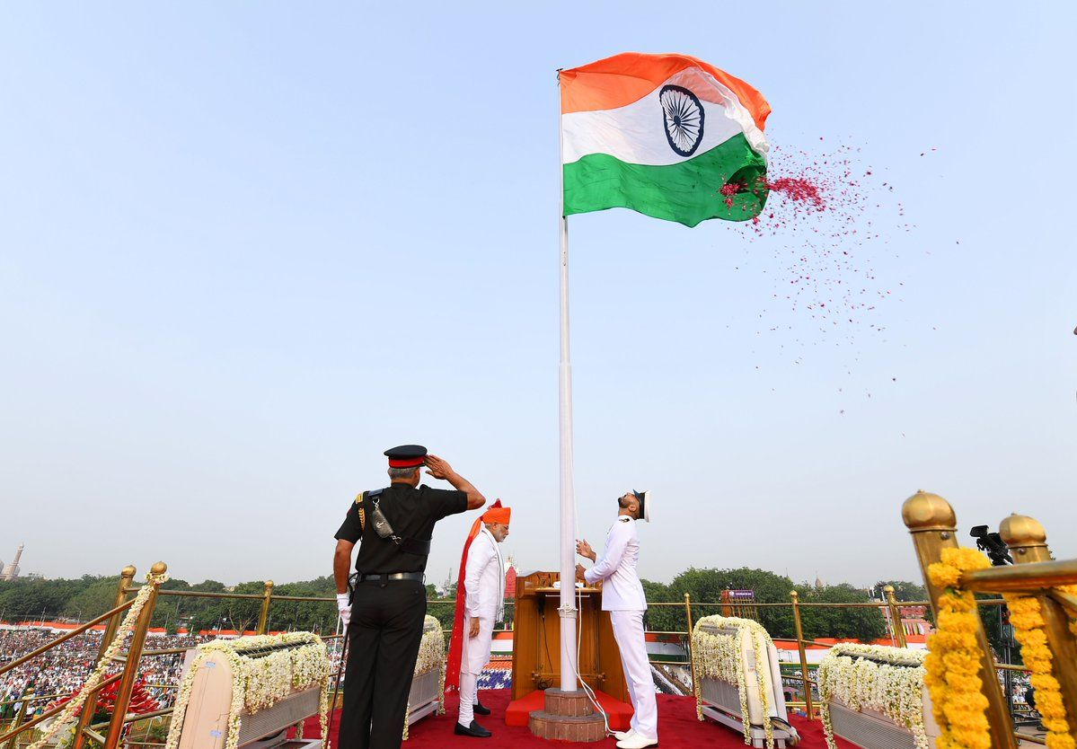 in his fifth independence day speech pm modi illustrates his vision