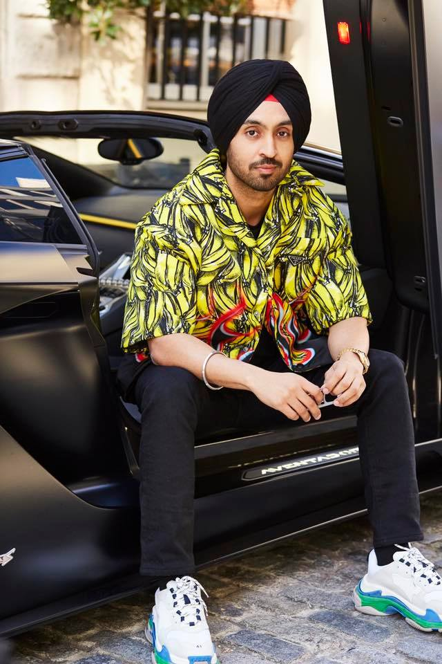 Diljit Dosanjh wins hearts with his style statement