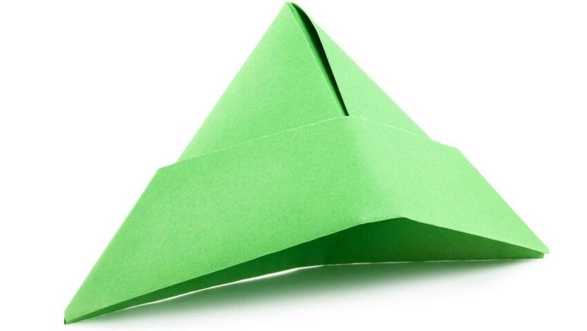 Origami cap