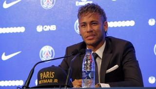 All's well that ends well, Neymar at the PSG press conference! (AP)