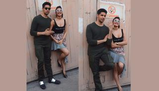 Sidharth Malhotra and Jacqueline Fernandez chilling out while working on 'A Gentleman' (Credit: Viral Bhayani)
