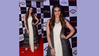 Kriti Sanon at Bareilly Ki Barfi's promotions (Credit: Viral Bhayani)