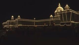A block of the resplendent Secretariat Building in New Delhi