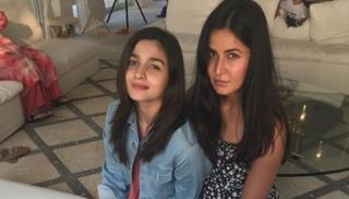 Alia Bhatt and Katrina Kaif look like two sisters at a birthday party. There is a sense of innocence to the way they look, which has won hearts on social media.
