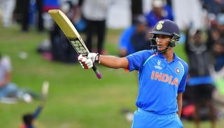 Manjot Kalra's century guides India to a record-breaking fourth title