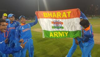 India were unbeaten throughout the tournament on the road to the final