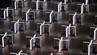 Performers entertain during the Opening Ceremony of the PyeongChang 2018 Winter Olympic Games. Richard Heathcote—Getty Images