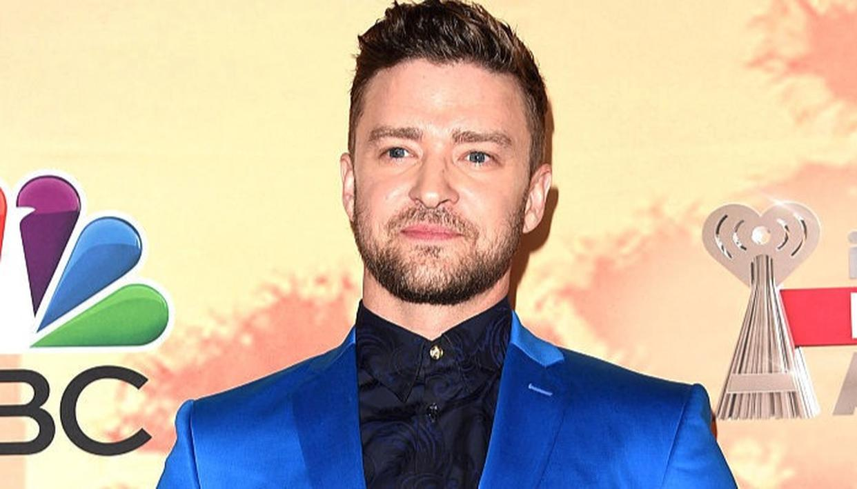 Justin Timberlake during the iHeartRadio Innovator Award in California  Photo- Getty Images