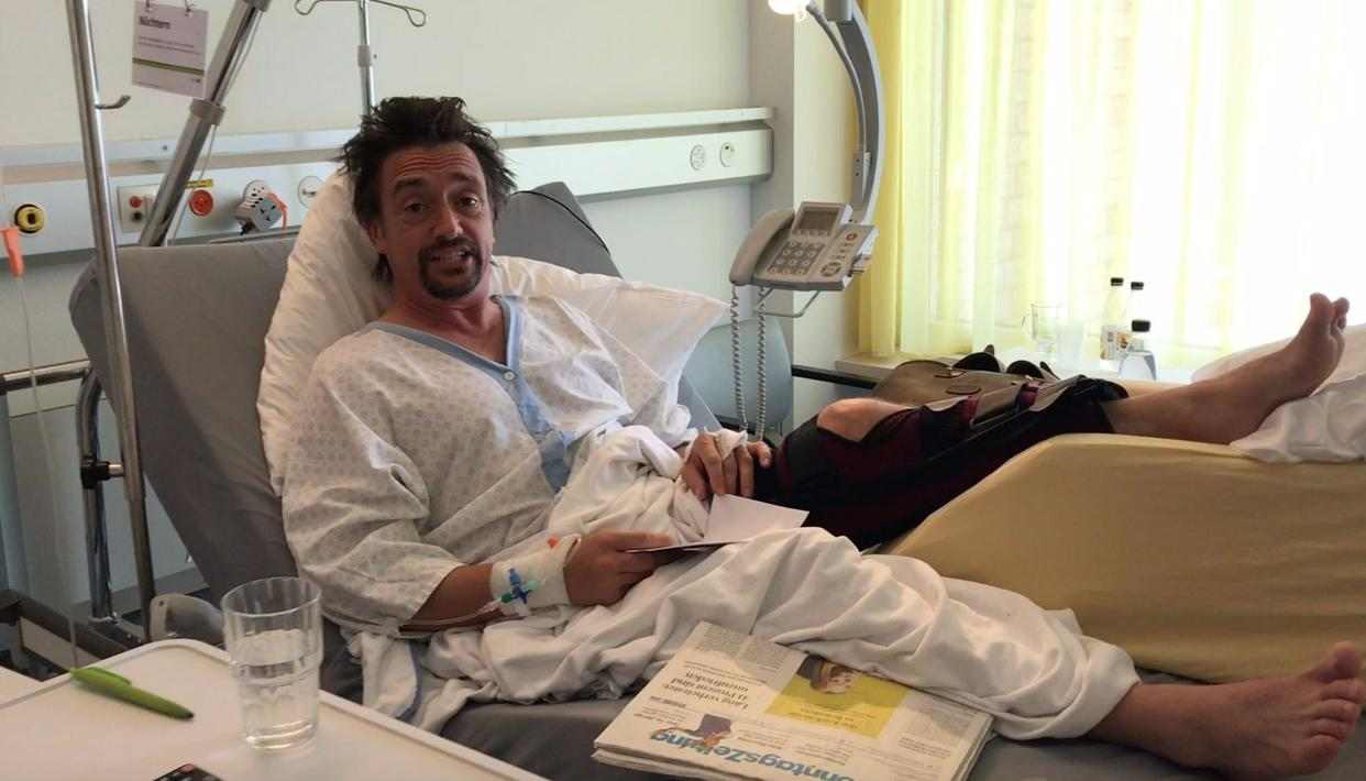 Richard Hammond posted a video to thank his loved ones   Photo credits: The Grand Tour  official Twitter handle