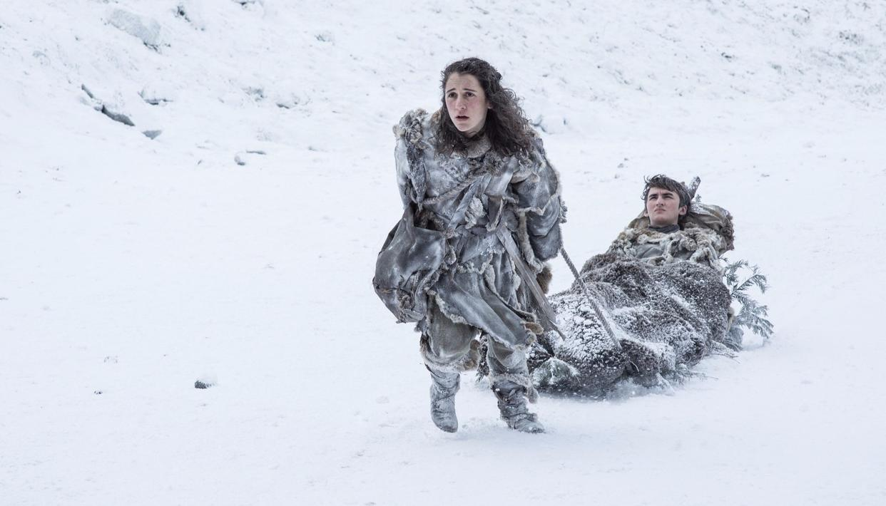 Will Bran and Meera make it south before Winter catches up with them? (HBO)