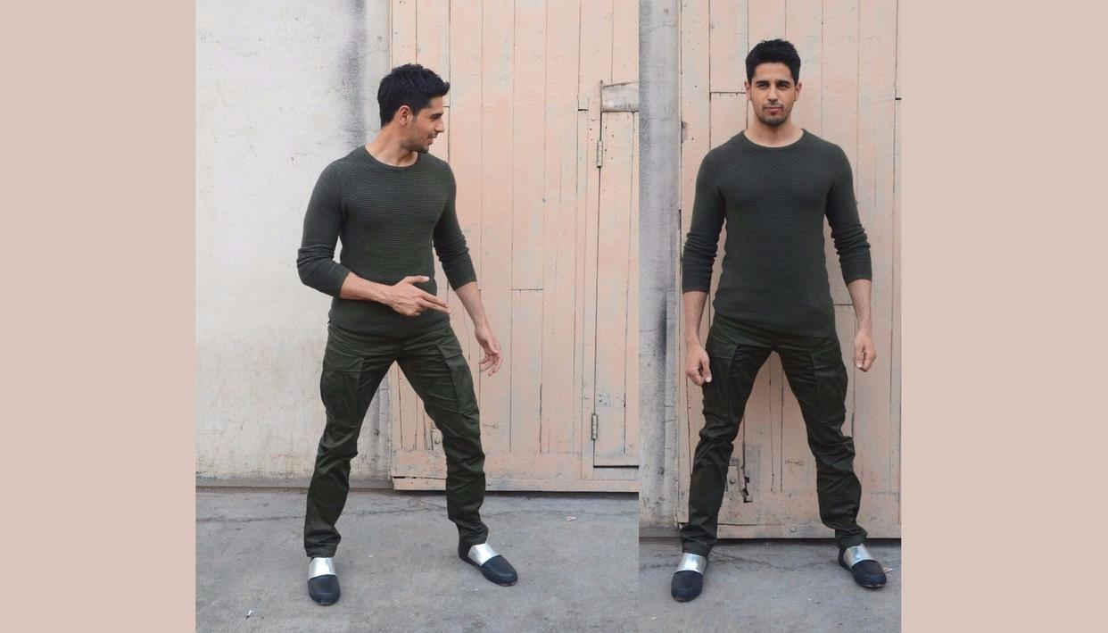 Double trouble with Sidharth Malhotra (Credit: Viral Bhayani)