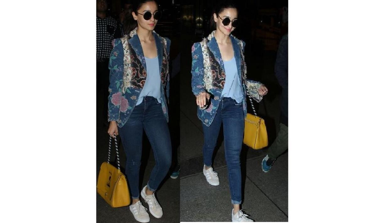 When in doubt about how to wear your absurd mustard bag - see Alia.