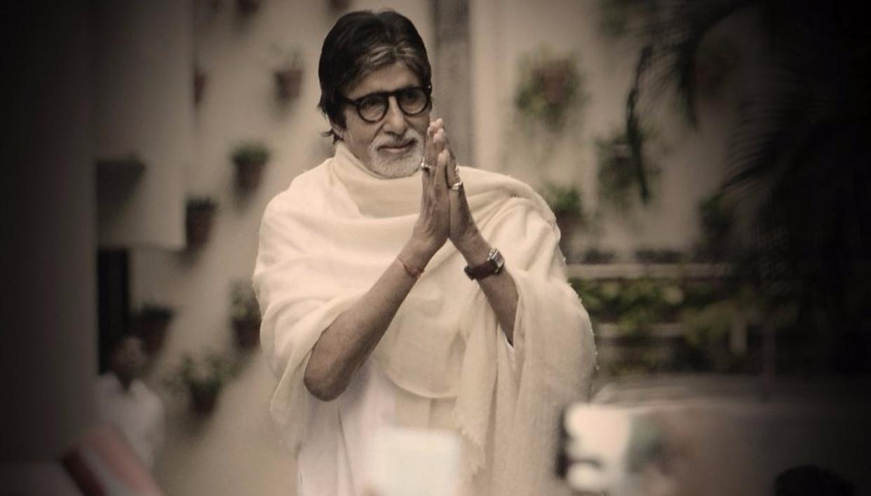 Source: Amitabh Bachchan's Twitter account