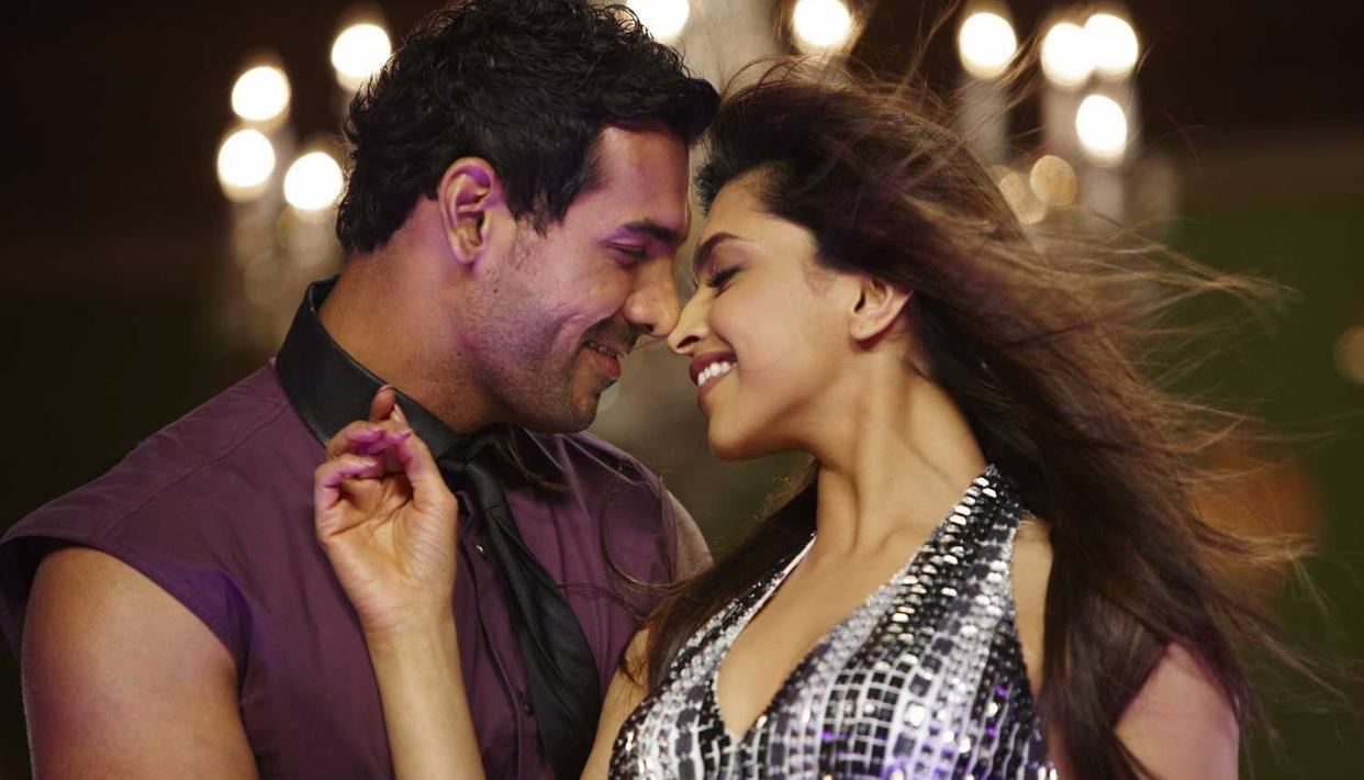 Deepika along with John Abraham in Desi Boyz which released in 2011. (Source: IMDb)