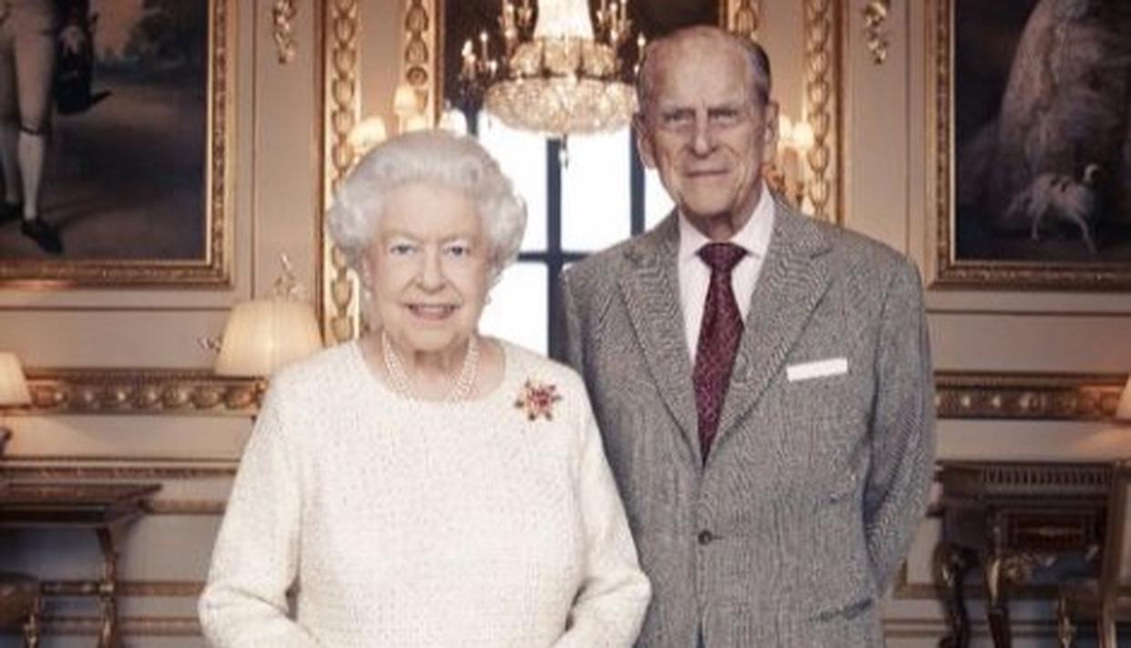 Queen Elizabeth II and King Philip