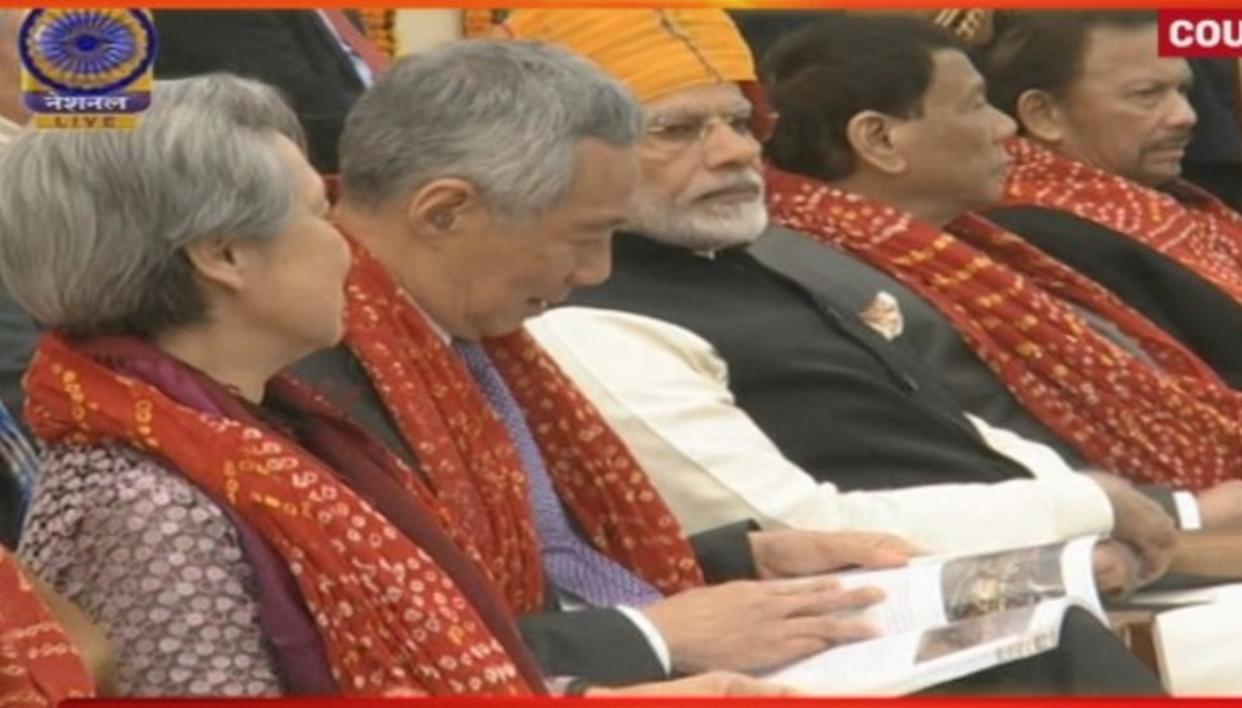 ASEAN leaders grace the occasion of India's 69th Republic Day