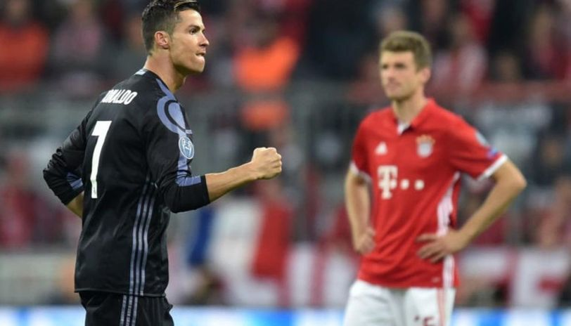 Ronaldo and Muller will come up against each other once again (Getty Image)