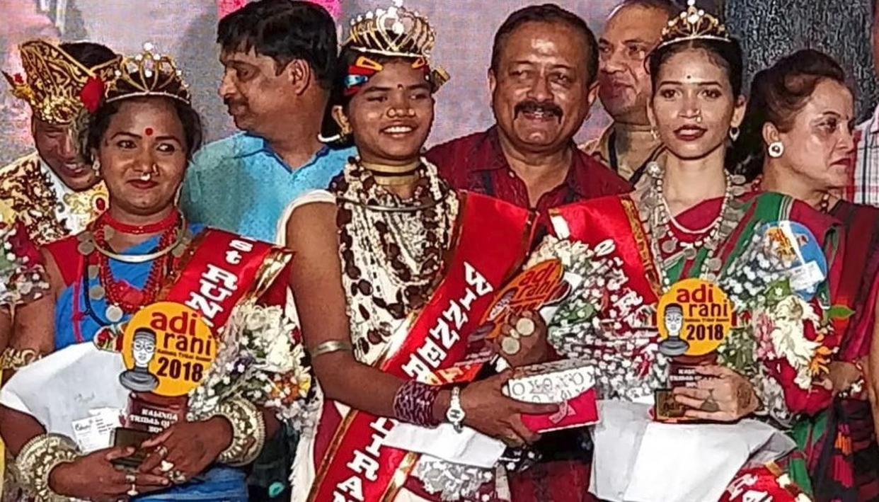 Image result for Odisha: Pallavi Darua crowned as India's first 'Tribal Queen'