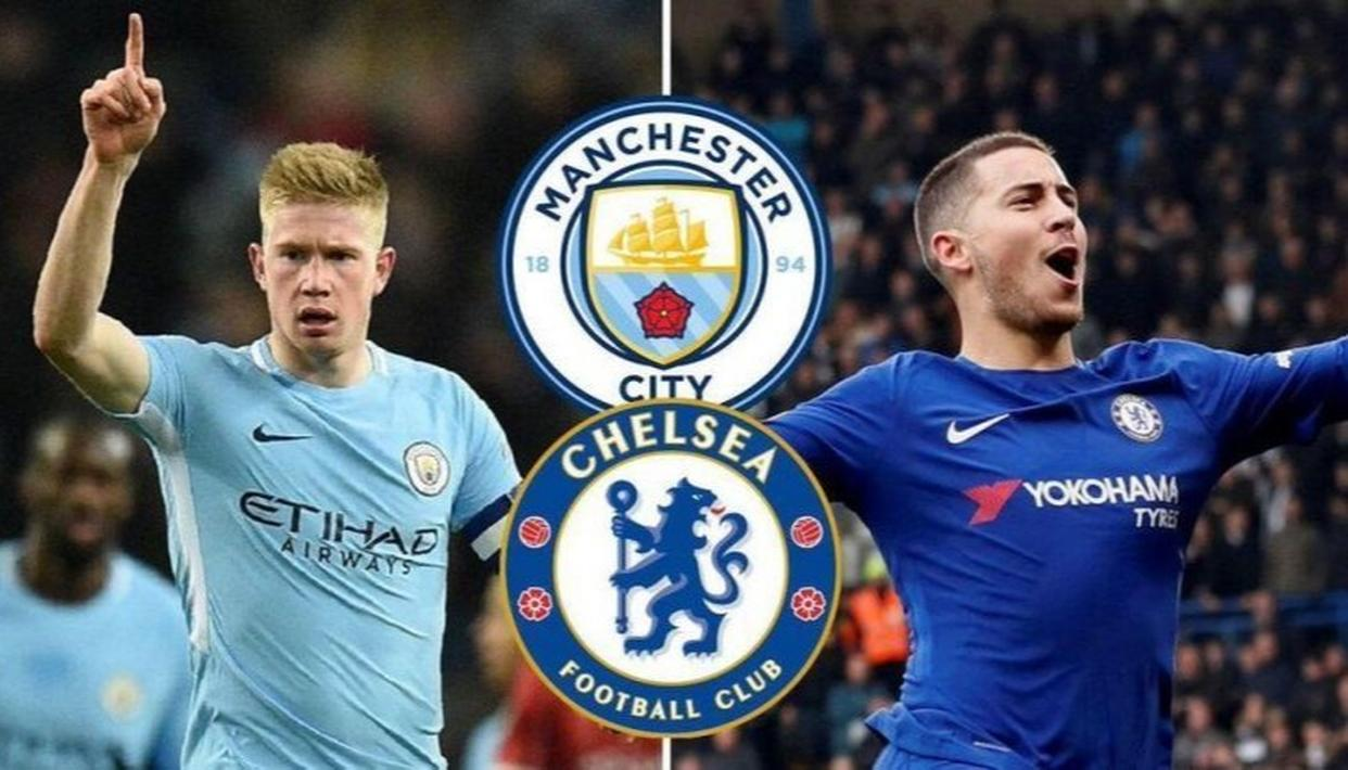 Image result for chelsea vs man city