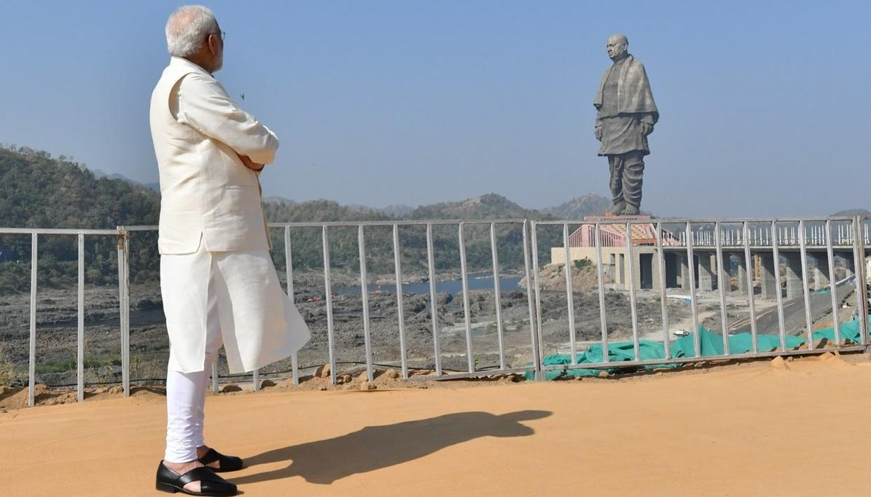 Permanent traffic plan under consideration for area in and around Statue of Unity: Collector Narmada