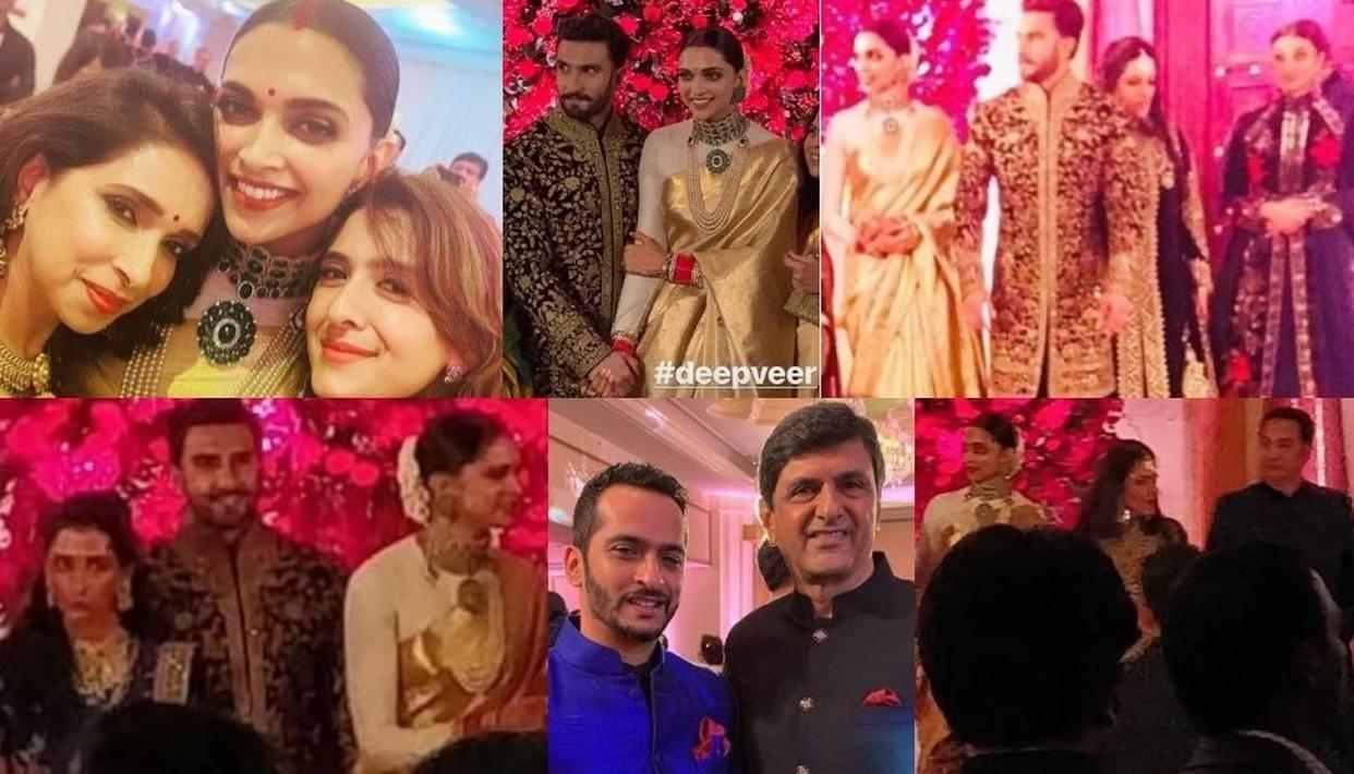 Inside Pics Videos Deepika Padukone Ranveer Singh And Family