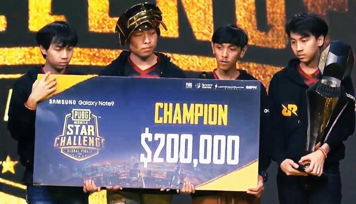 Winner winner    This team won the Dubai PUBG Mobile Star Challenge