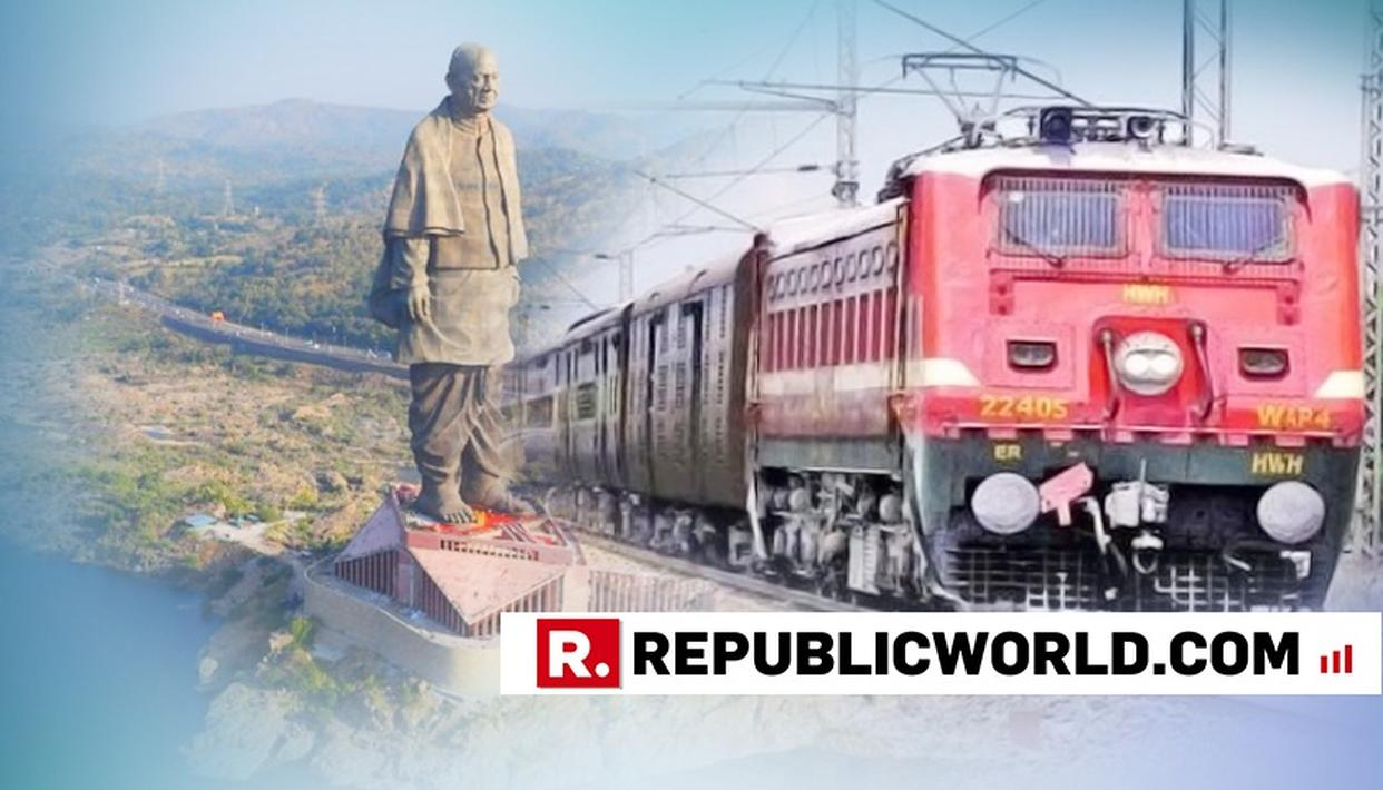 New railway station to come up near Statue of Unity site in