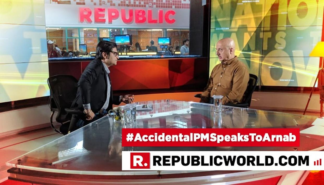 Image result for republic tv accidental prime minister