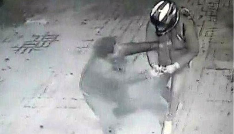 Karan Chowdhary, a student, said the man with the gun told him to give his motorcycle