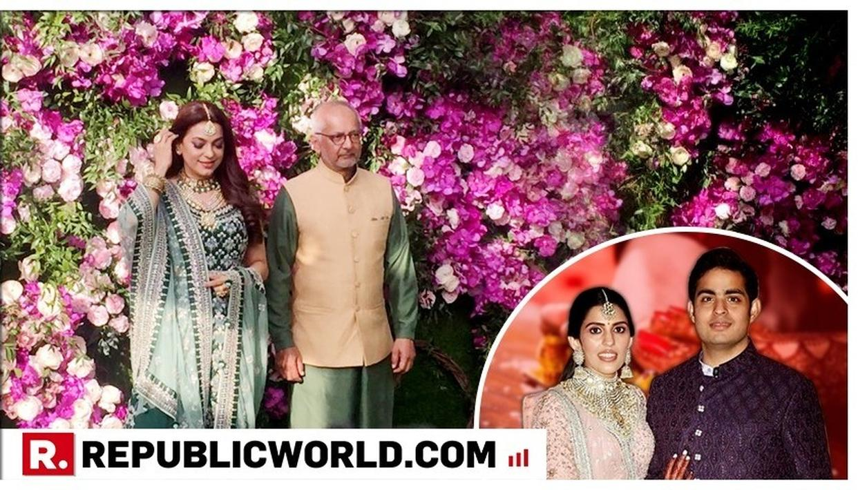 Akash Ambani-Shloka Mehta Wedding: Juhi Chawla mesmerises in green