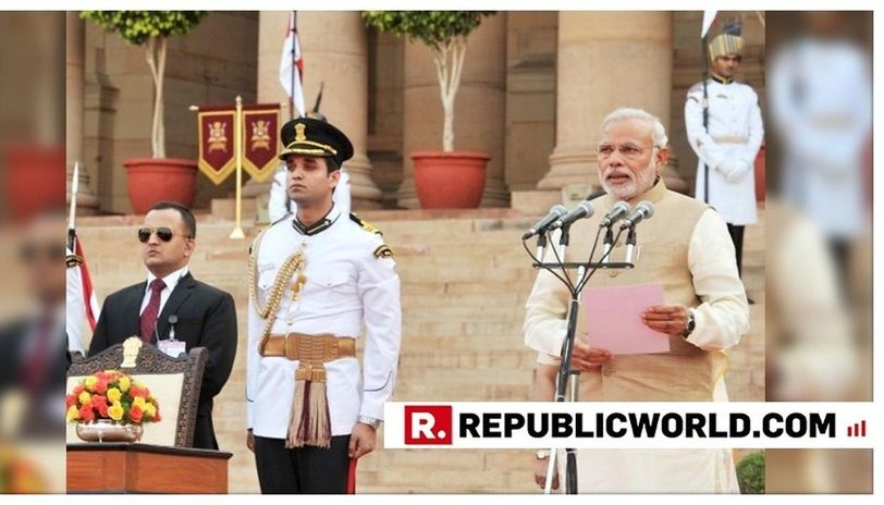 2014 Oath taking ceremony of Narendra Modi  (Picture Credit : google)