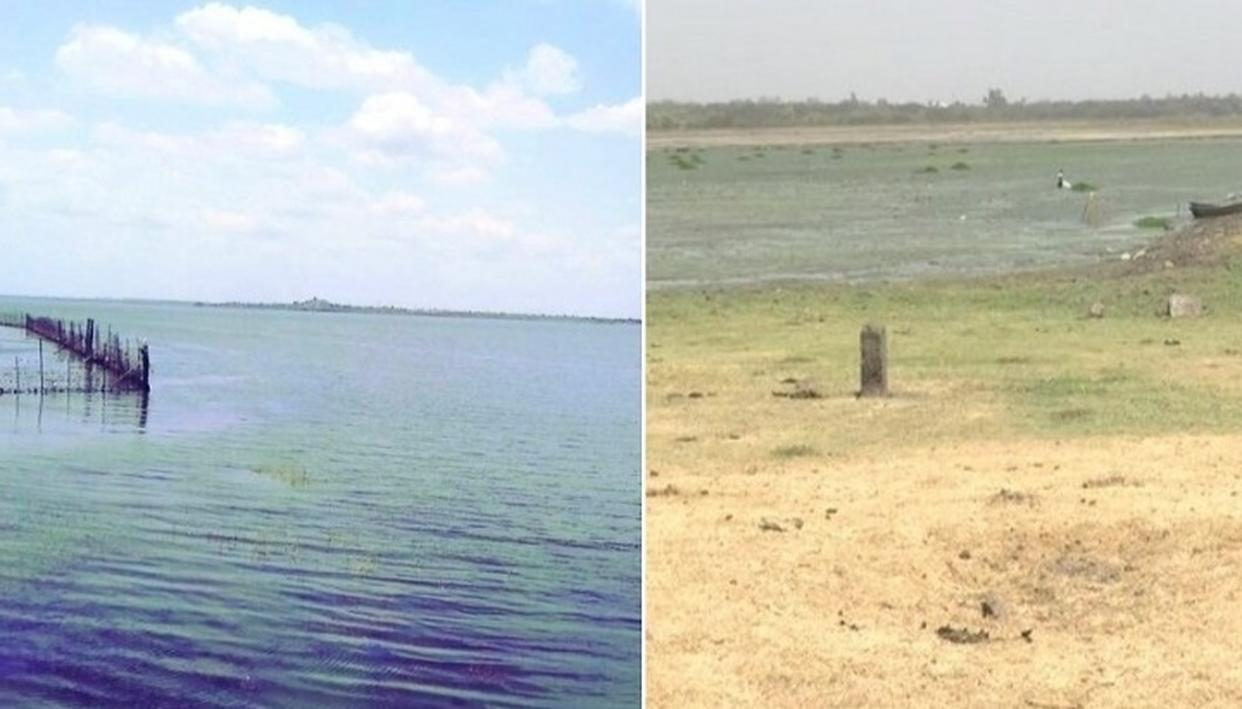 Acute water shortage faced by Bhojtal lake in Bhopal