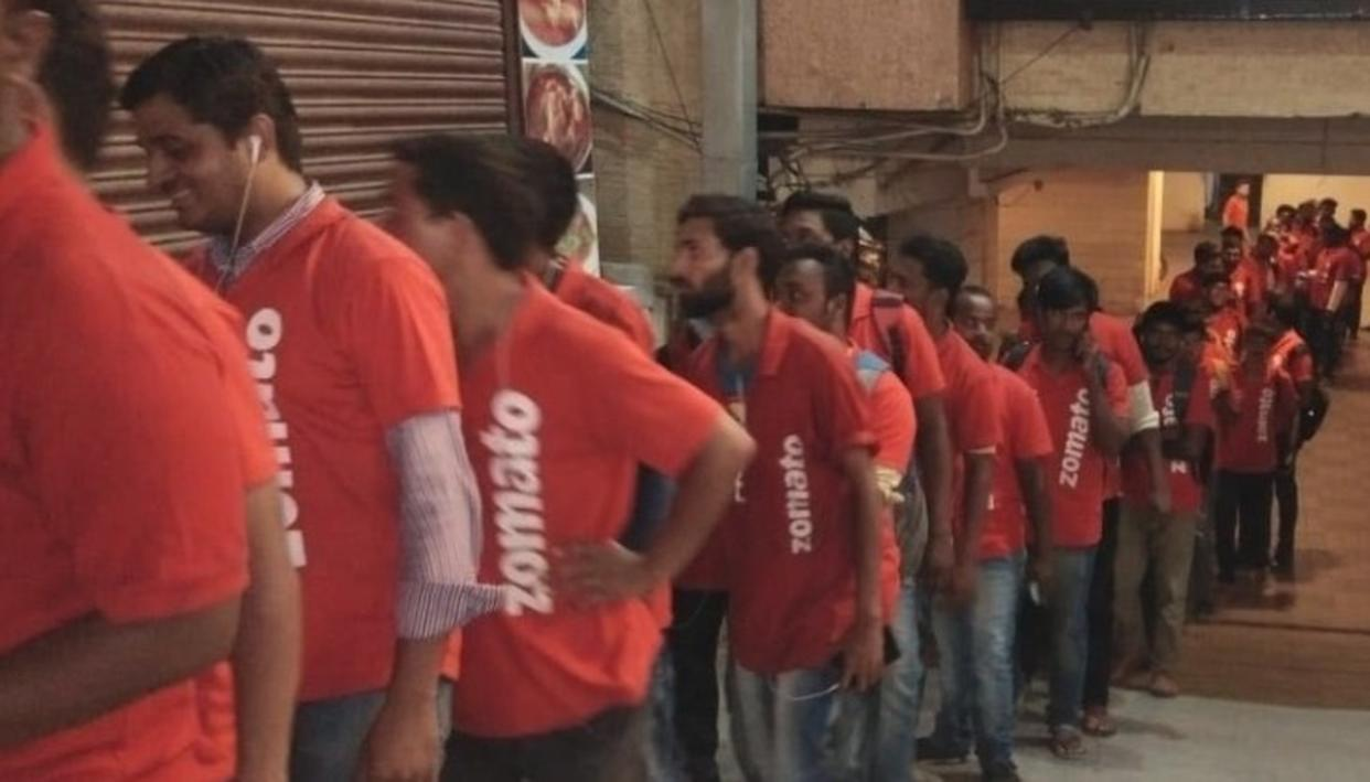 Would you shower kindness on Zomato delivery executives?