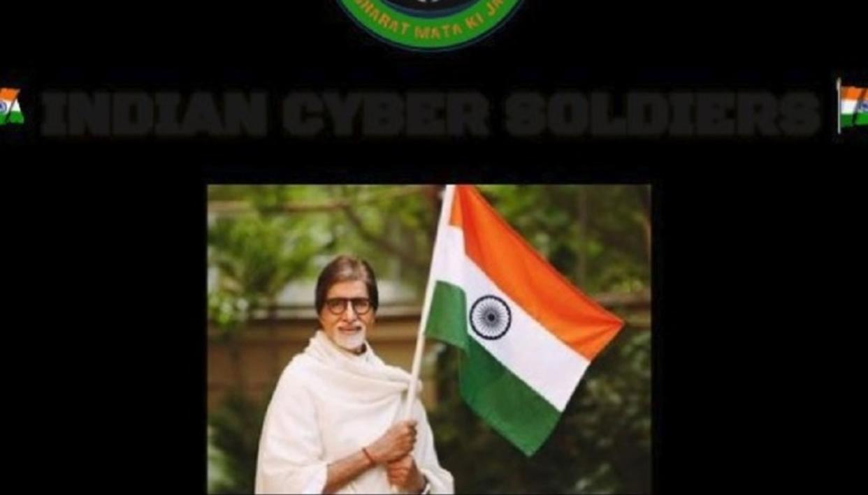 Image credit: Indian Cyber Soldiers via Twitter