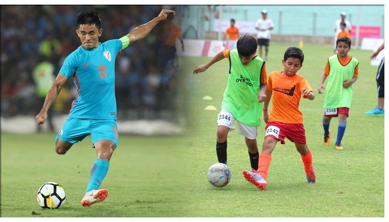 Indian football captain Sunil Chhetri on Saturday lamented that he did not have access to top-class facilities during his growing days.