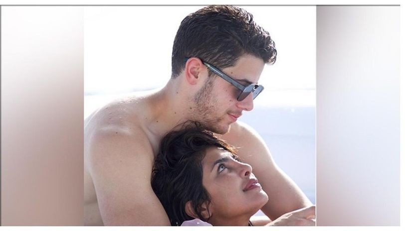 Priyanka Chopra and Nick Jonas in Miami, Florida