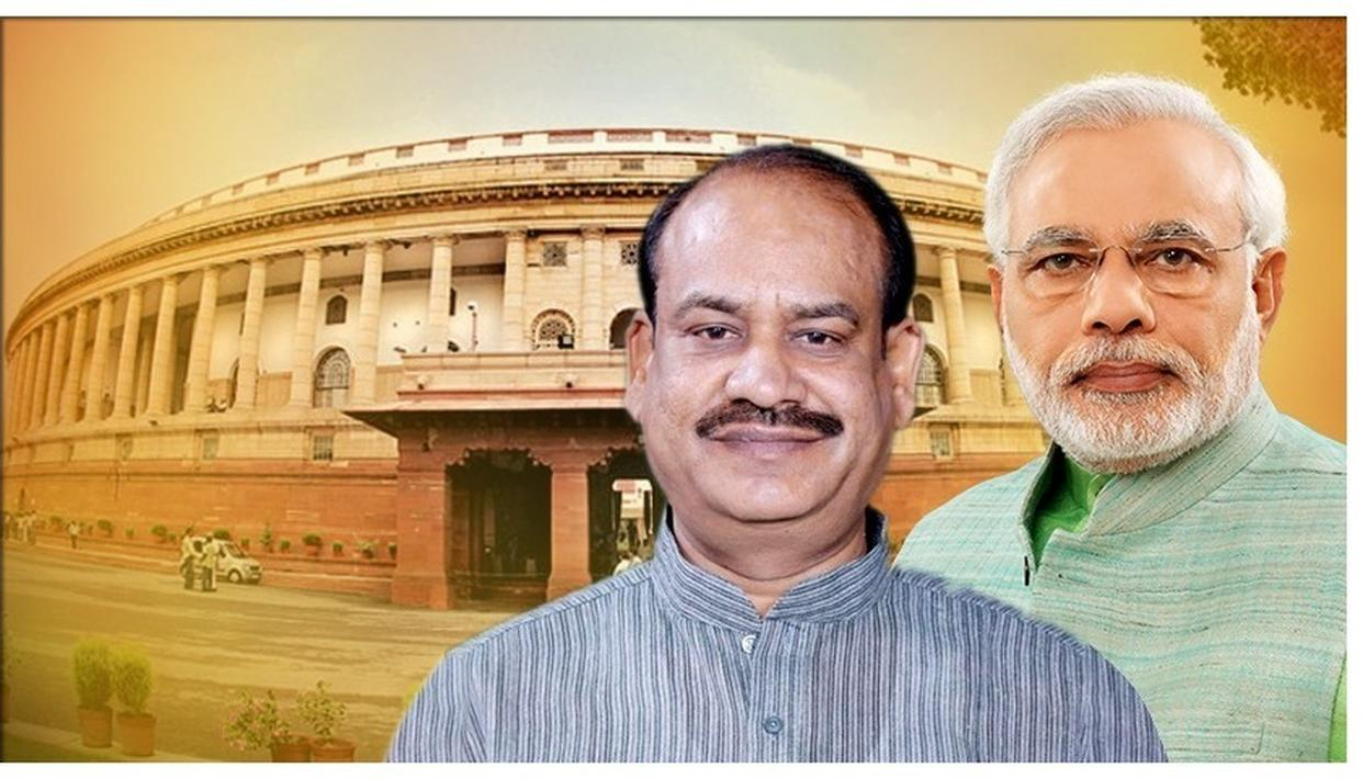 Lok Sabha Speaker requested PM Narendra Modi to acknowledge his desire to see Parliament as the biggest and most beautiful.