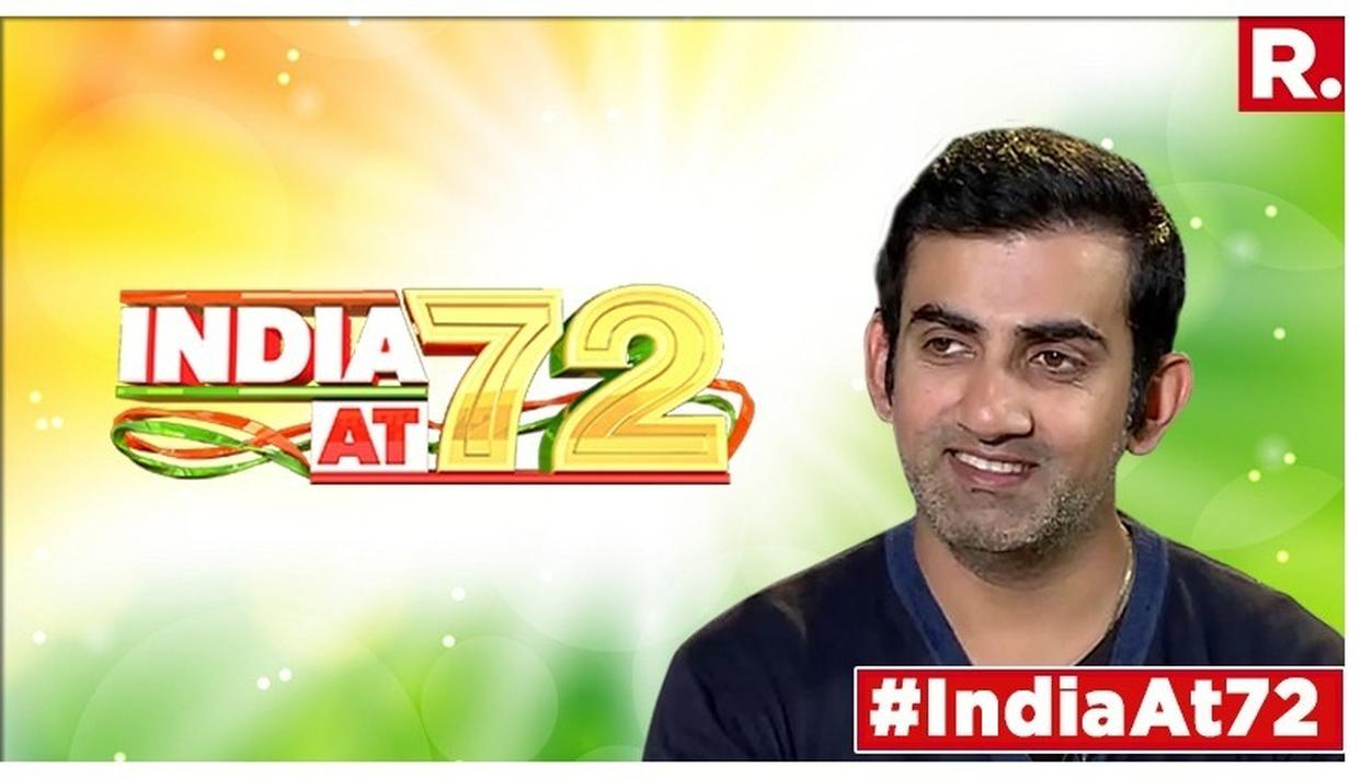 On the occasion of Independence Day, Gautam Gambhir has also come forward to convey his wishes.