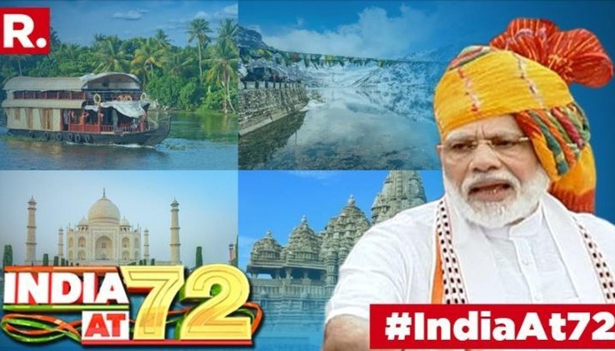 Prime Minister Narendra Modi on the occasion of India's 73rd Independence Day drew attention to the importance of tourism industry and how it can be accentuated
