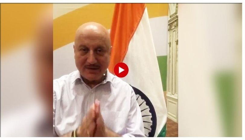 Anupam Kher wished the citizens for Independence Day with a hard-hitting message.