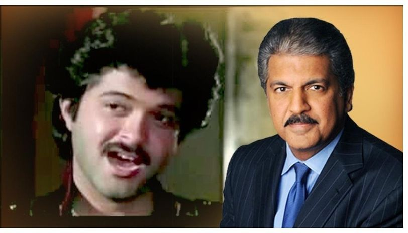 Anand Mahindra. On the Left: Anil Kapoor