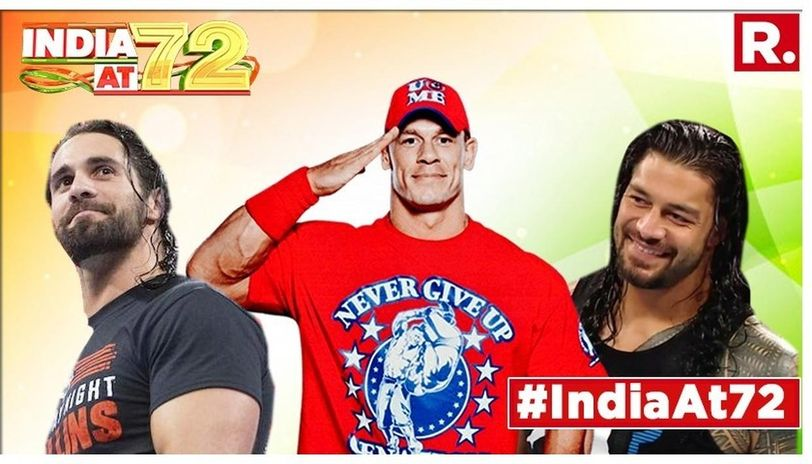 The 16-time World Champion John Cena took to social media and wished everyone in India a Happy Independence Day.