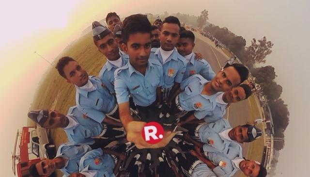 VR 360 Video of IAF's 85th Air Force Day Parade in India - Republic World