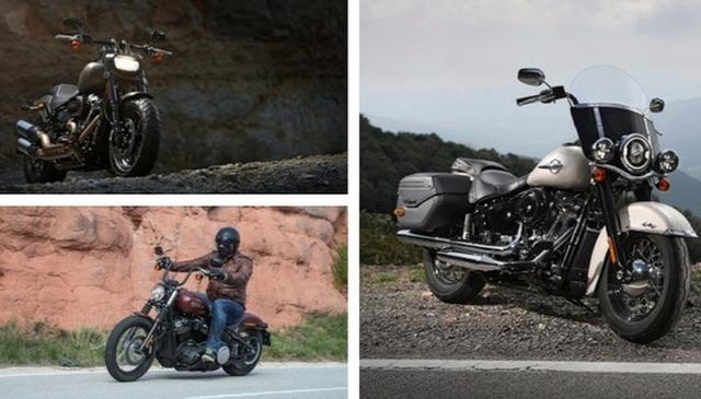 2018 Harley Davidson Softail series launched in India
