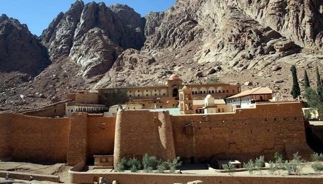 EGYPT REOPENS ANCIENT SINAI LIBRARY
