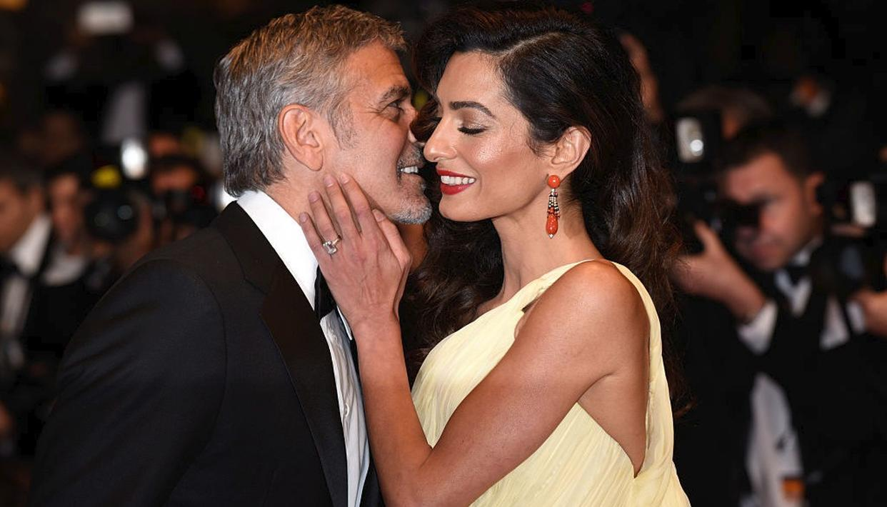 When Clooney went looney on Amal!