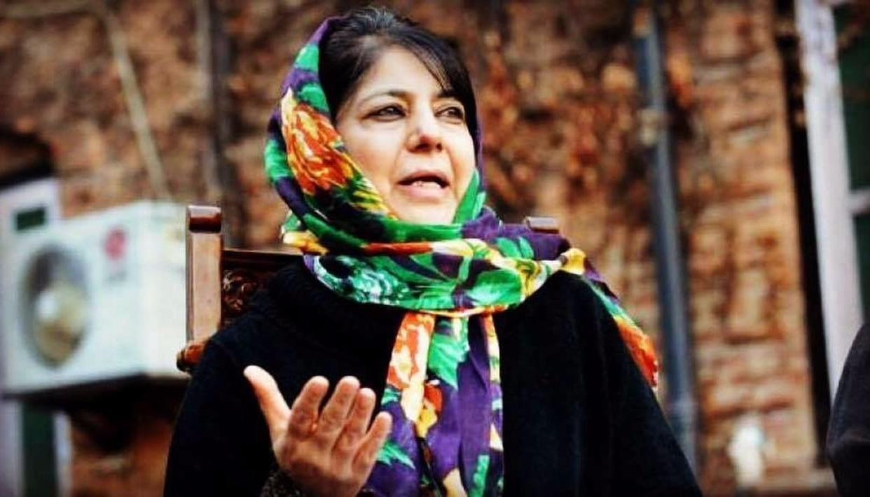TALKS WITH WHOM, MEHBOOBA?