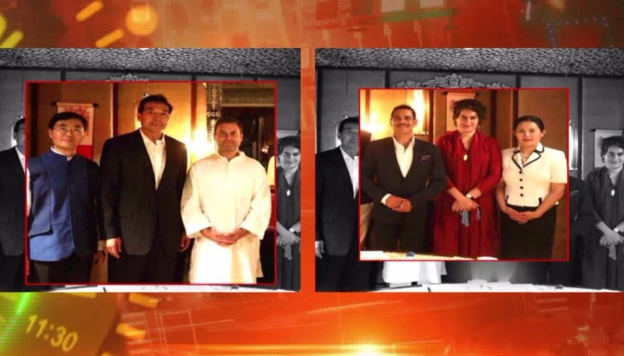 WHY DID VADRA MEET THE CHINESE ENVOY?