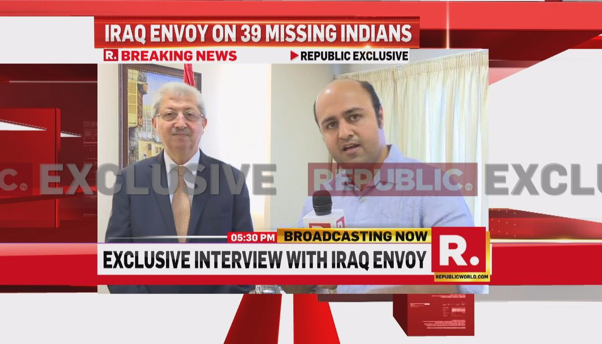 Iraqi envoy speaks to Republic TV