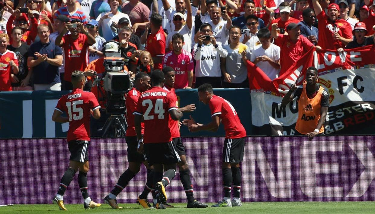 Manchester United beat Real Madrid